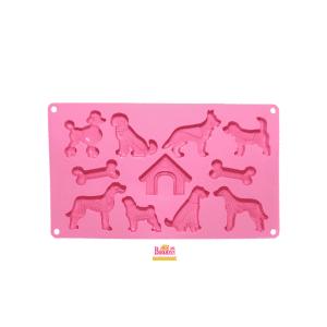 Silikon Backform für Hundekekse / Backmatten-Hundekekse / Hundekekse mit Backmatten backen / Hundekekse backen