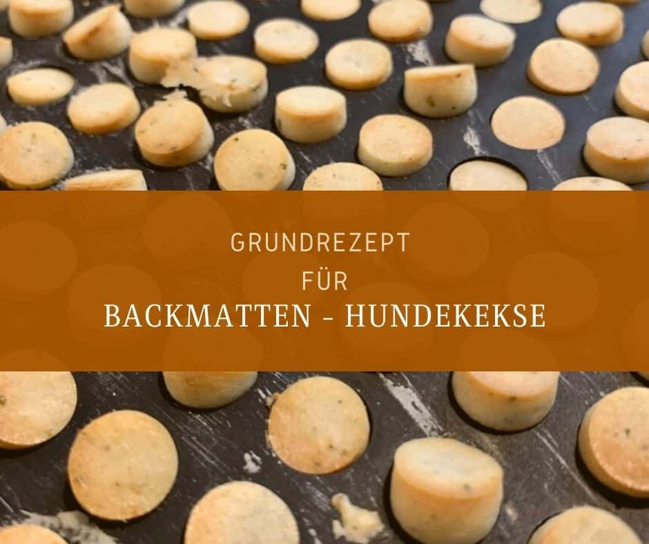 Grundrezept - Backmattenkekse