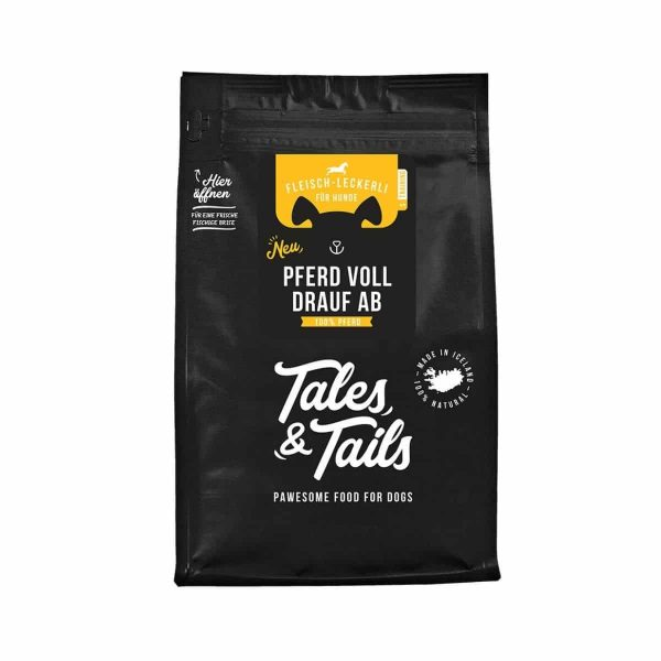 Tales&Tails Pferd voll drauf ab - Fleisch - Leckerli / Hundekekse / Hundesnack