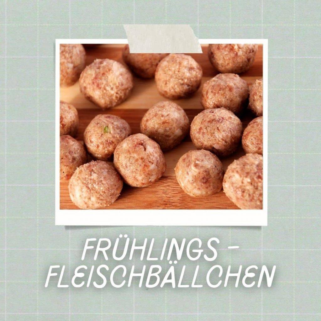 Frühlings-Fleischbällchen - Blogartikel